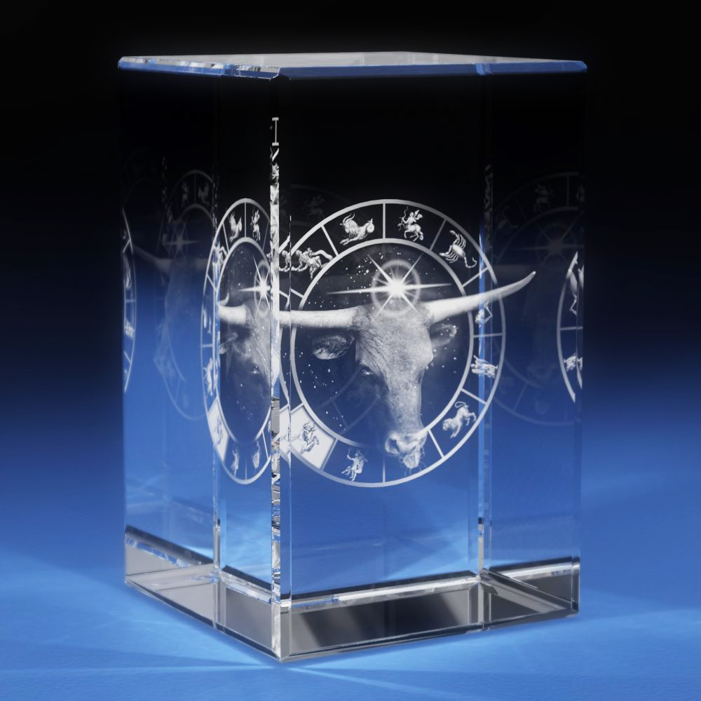 3d Laser Crystal Glass Etched Engrave Paperweight Stand