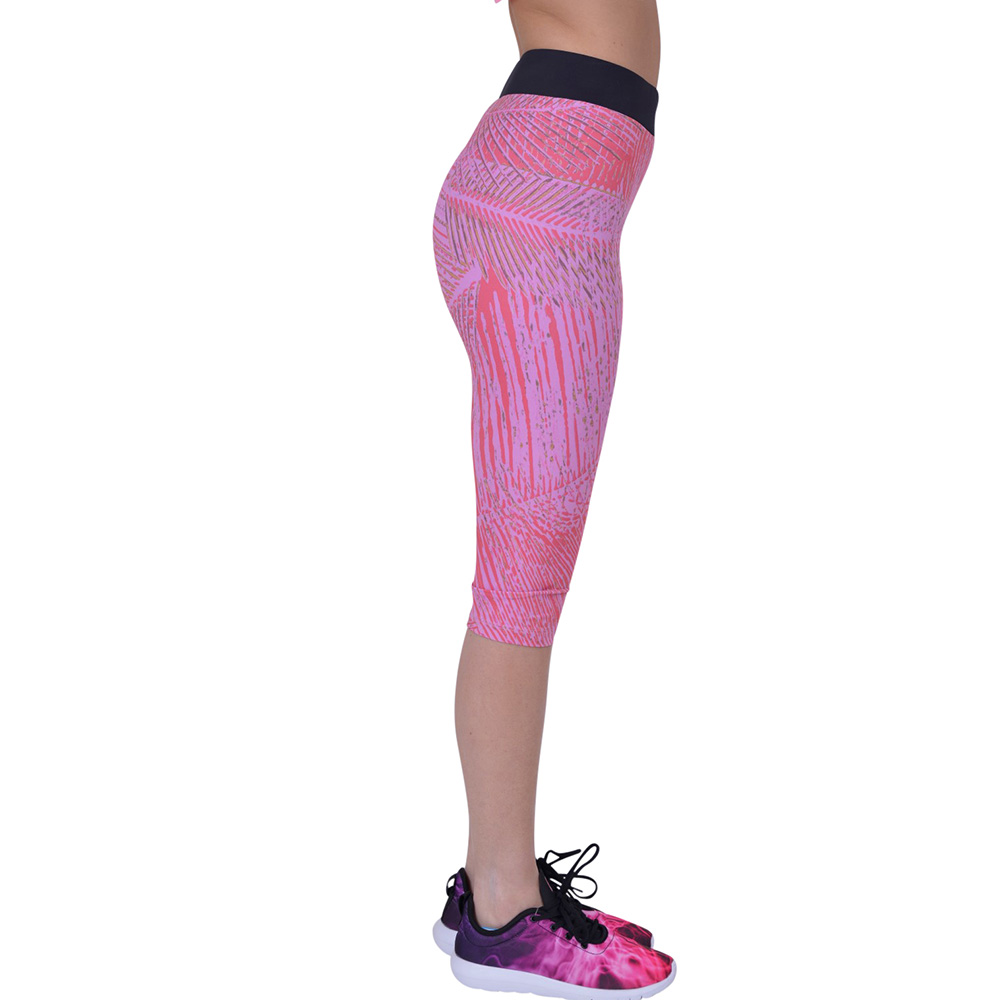 Sealmax Women 3/4 Yoga Leggings Cari Pants Breathe Fabric