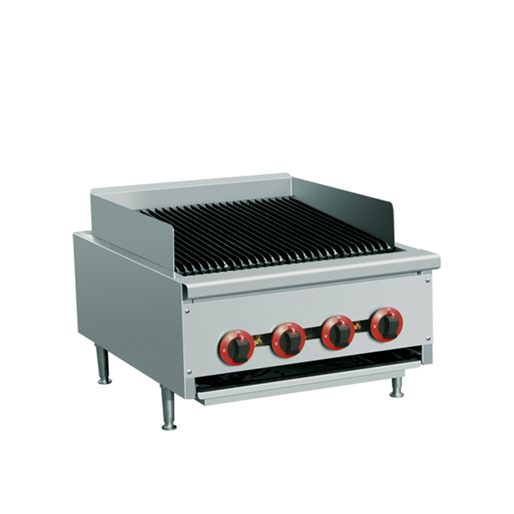 Countertop Grill : ... Restaurant Chabroiler Countertop Radiant Gas Broiler Grill - #TH-QR-24