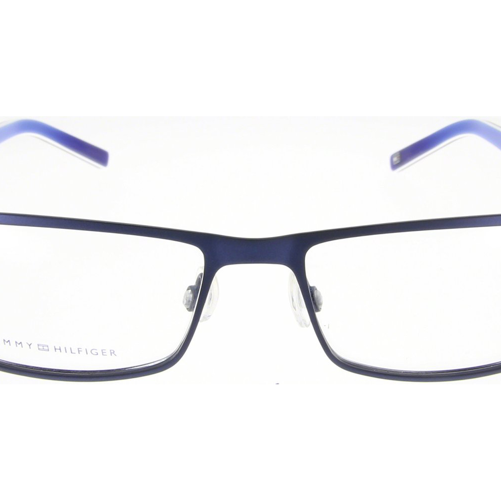 Tommy Hilfiger Glasses Frames Blue : New Tommy Hilfiger Mens Eyeglasses TH 1127 4XR 5516 Blue ...