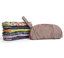Compact Diapering Clutch