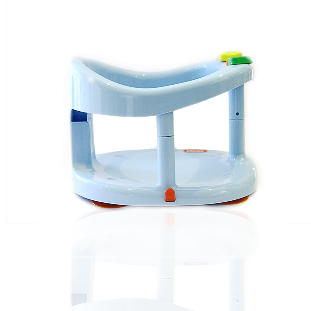 new keter baby bath ring infant seat for tub anti slip saftey chair light blue ebay. Black Bedroom Furniture Sets. Home Design Ideas