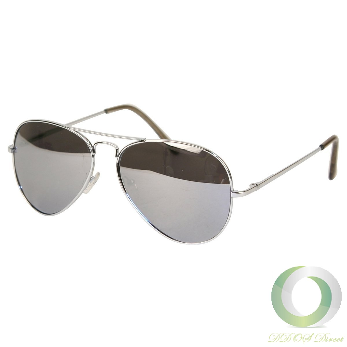 Flash Mirror coating is a half mirror, so people can still see your eyes. Available in silver, gold or blue, flash mirror coating is both a fashion choice and a functional choice. The flash mirror helps to reduce glare coming off snow, water, and other shiny surfaces.
