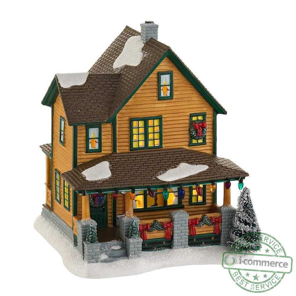 Harrows Patio Furniture New Department 56 A Christmas Story Village Ralphies House Lit House 7 ...