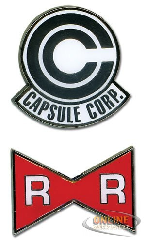Capsule Corp. And Red Ribbon Army Pins