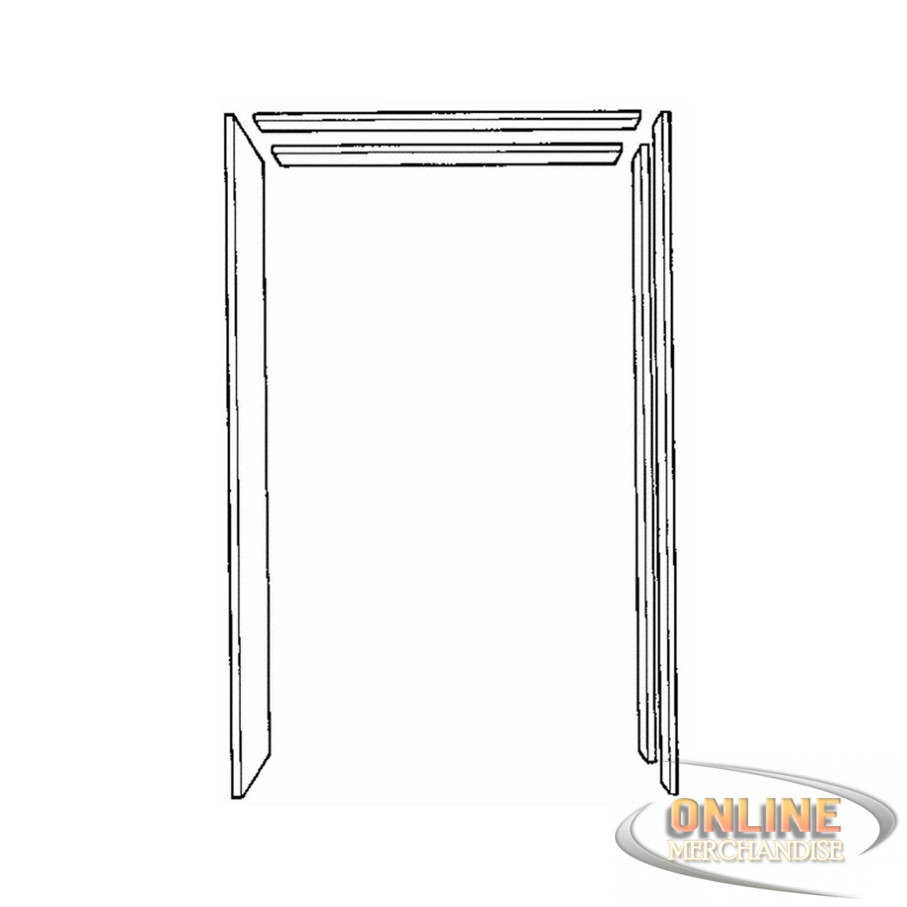 Johnson prod 15113068 pocket door frame jamb kit free ship for Door frame kit