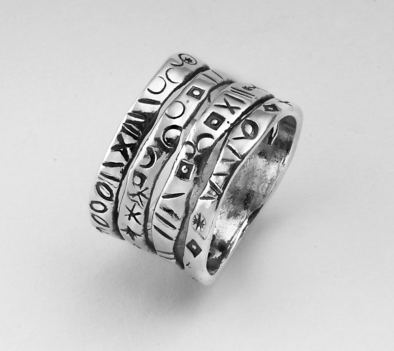 new shablool ring for s sterling silver 7 grams