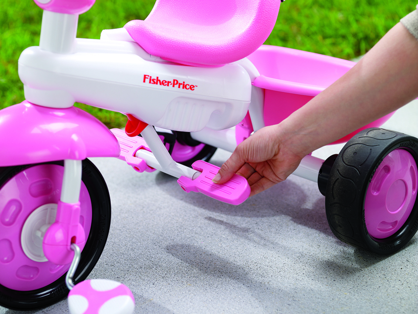 FISHER PRICE CHARM PLUS SMART TRIKE REVIEW - YouTube